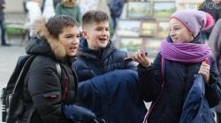 День святого Михайла: на Михайлівській житомиряни співали в караоке (ФОТО)