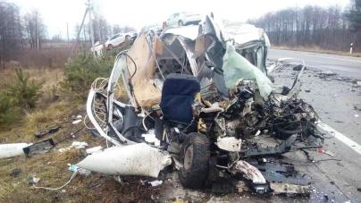 Олевський район: у ДТП загинули водій та пасажир легковика (ФОТО)