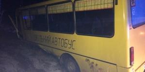 16 школярів та їх вчителька потрапили у ДТП в Коростенському районі (ФОТО)
