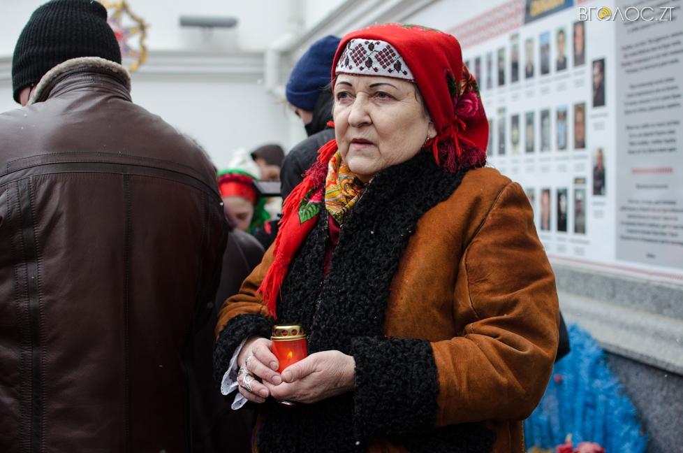 Колядують колядувальники Житомир
