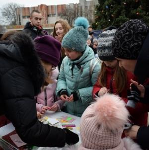 Житомиряни отримали справжнє свято від «Фонду молодіжних ініціатив»