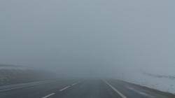 Сильний туман: дорожники Житомирщини попередили водіїв про погану видимість