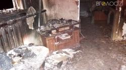 У Баранівському районі під час пожежі в житловому будинку загинула жінка, а її мати отримала опіки