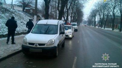 Поліцейські затримали чоловіків, які причетні до стрілянини під Житомиром