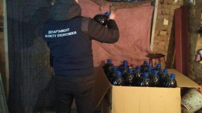 В області ліквідували мережу виготовлення фальсифікованого алкоголю