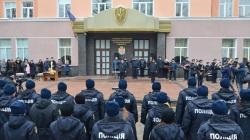 """Вірність та відданість: у Житомирі 40 """"нових"""" поліцейських склали присягу(ФОТО)"""