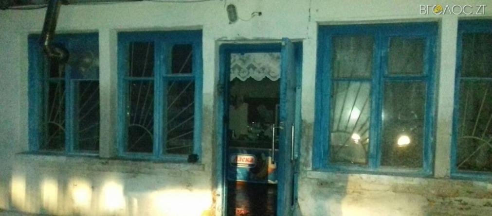 У Романівському районі крадій підпалив магазин, щоб не попастися