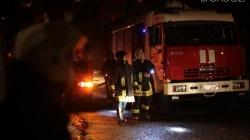 У Ліщині дотла згорів будинок. Жінка, яка намагалася гасити вогонь, отримала опіки