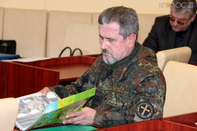 В облраді визнали трьох жителів Житомирщини бійцями-добровольцями АТО
