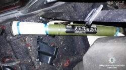 Бердичів: у багажнику краденого авто поліцейські виявили гранатомет