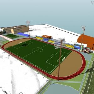 У міській раді знову обіцяють до кінця року завершити реконструкцію стадіону «Спартак»