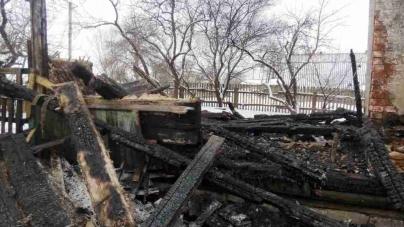 У Олевському районі на пожежі згоріла пенсіонерка