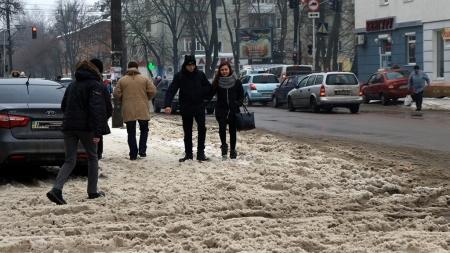 У Житомирі потеплішало: танe сніг (ФОТО)