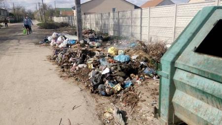 На вулиці Труда у Житомирі кілька днів горить сміття
