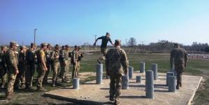 Під Житомиром триває бойова підготовка курсантів-десантників та морських піхотинців (ФОТО)