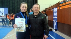 Житомирянка виграла Чемпіонат Європи з КУНГФУ