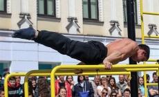 На Михайлівській відкрили сезон з вуличного воркауту (ФОТО)