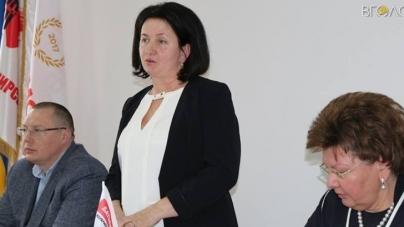 Любов Цимбалюк обрали головою міської «Батьківщини»