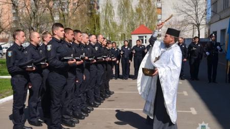 У Житомирі нові патрульні поліцейські склали присягу (ФОТО)