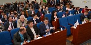 """""""Космічна"""" сесія Житомирської міської ради у фото"""