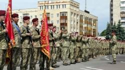 Як у Житомирі урочисто зустрічали бійців героїчної 95-ї бригади (ФОТО)