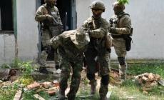 Зі зброєю та диверсантами: на Житомирщині відбулися антитерористичні навчання силовиків