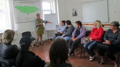 У Баранівці відкрили клуб для безробітних жінок