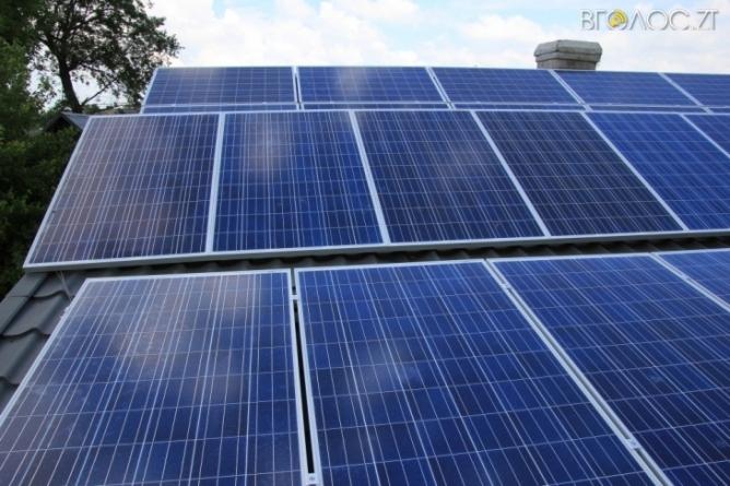 Сонячну електростанцію в Житомирі побудують до кінця наступного року