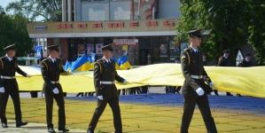 Патріотичною ходою розпочалось відзначення Дня Конституції у Житомирі (ФОТО)