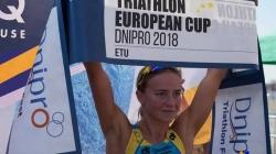 Житомирянка Юлія Єлістратова виборола перше місце на Кубку Європи з триатлону
