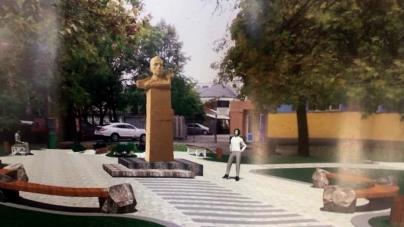 Житомир: пам'ятник Бандері встановлять на місці, де був бюст Маркса