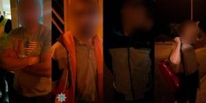 У Житомирській області патрульні затримали чотирьох осіб, яких підозрюють у викраденні людей