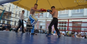 Як у Житомирі кікбоксери змагалися за титул чемпіона Полісся (ФОТО)