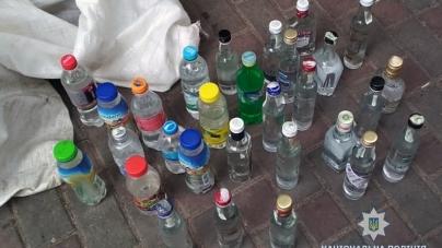 На Житньому ринку у кіосках торгували самогоном та спиртом