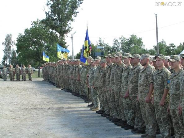 Військових 30-ї окремої механізованої бригади, які повернулися із зони ООС, урочисто зустріли у Новограді-Волинському