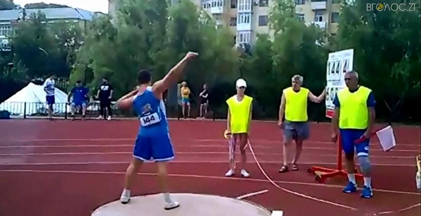 Три золоті нагороди на Кубку України з легкої атлетики здобув спортсмен з Житомирщини