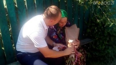 На Житомирщині бабуся отримуватиме підвищену пенсію в зв'язку з досягненням 100-річчя