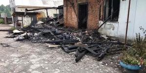 Коростишівський район: під час пожежі отримала опіки 75-річна бабуся