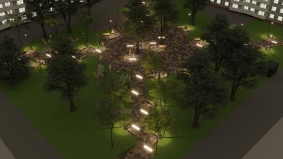 Реконструкцію скверу на Лятошинського обіцяють почати через кілька днів