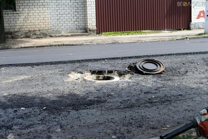 """На """"ремонті"""" центральної вулиці Коростеня вкрали бюджетні кошти"""