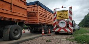 Понад 10 тисяч євро штрафів виписали власникам перевантажених авто, які рухалися через Житомирщину