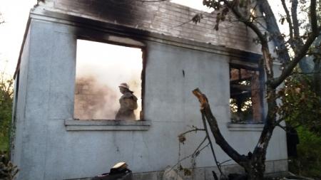 У Бердичівському районі під час пожежі у дачному будинку загинув чоловік