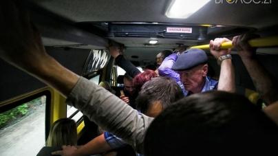 На Житомирщині кожен п'ятий автобус перевозить пасажирів з порушеннями