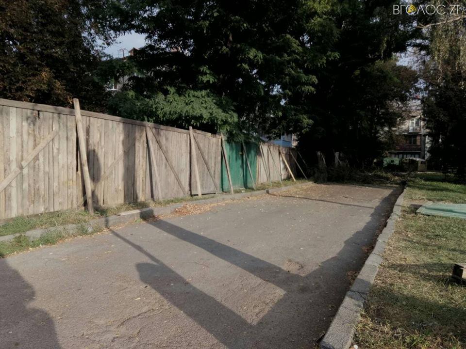 реконструкция сквера на Лятошинского в Житомире