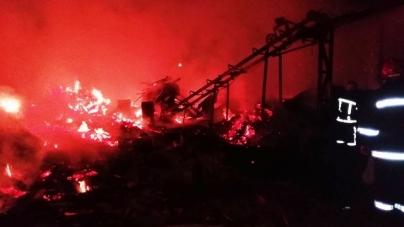 Понад 6 годин рятувальники боролися з пожежою на підприємстві у Народичах
