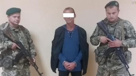 Житомирські прикордонники затримали втікача з в'язниці