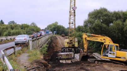 У Високій Печі розпочали ремонт мосту вартістю понад 16 мільйонів