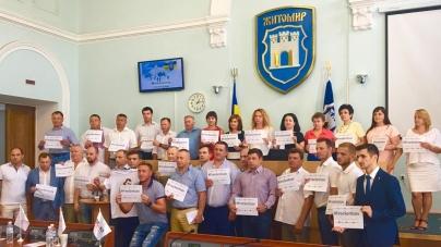 Депутати міськради долучилися до акції на підтримку ув'язненого у Росії українського режисера