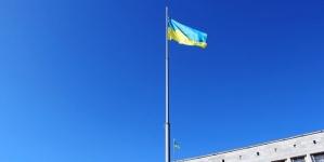 На майдані Корольова підняли Державний Прапор України (ФОТО)