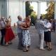 Щоп'ятниці житомирські пенсіонери влаштовують бальні танці у міському парку (ВІДЕО)